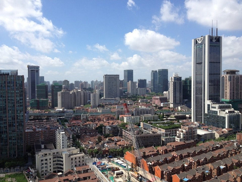 (Central Shanghai. Image credit: JUCCCE)